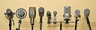 podcast-microphones